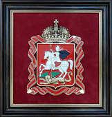 Плакетка «Герб Московской области»