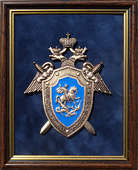 Плакетка «Эмблема Следственного комитета РФ»