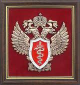 Плакетка «Эмблема Федеральной службы по контролю за оборотом наркотиков» (ФСКН России)