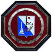Настенные часы «Герб Севастополя»