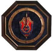 Настенные часы «100 лет ФСБ»
