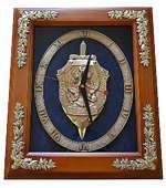 Настенные часы «Эмблема Федеральной Службы Безопасности РФ» (ФСБ России)