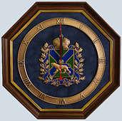 Настенные часы «Герб Приморского края»
