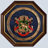 Настенные часы «Герб Владивостока»