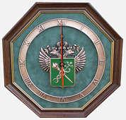 Настенные часы «Эмблема Таможни»