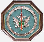 Настенные часы «Эмблема Министерства Юстиции РФ» (Минюст России)