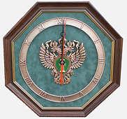 Настенные часы «Эмблема Прокуратуры РФ»