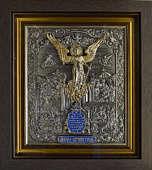 Икона «Ангел Хранитель» с золочением