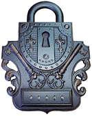 Ключница настенная открытая «Замок 4»