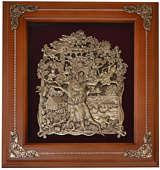 Деревянная ключница настенная «Лукоморье»