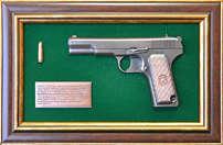 Панно с пистолетом «ТТ» в подарочной коробке