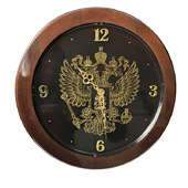 Часы настенные Герб