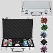 Набор для покера на 200 фишек с номиналом