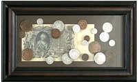 Панно Екатерина II (купюра)