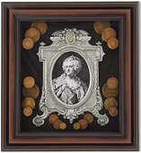 Панно Екатерина II (портрет)
