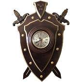 Часы настенные Щит МВД