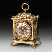Часы каминные из бронзы Ларец