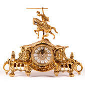 Часы каминные Рыцарь