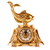 Часы каминные Золотая рыбка