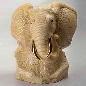 Скульптура Бюст слона (Ltd 400)