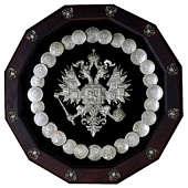 Панно большое многогранник Герб России