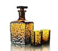 Набор «Текила» из янтарного хрусталя