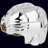 Сувенир-стопка «Каска хоккейная» из серебра 960 пробы