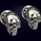 Серьги «Вечность» из серебра 925 пробы