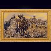 Гравюра «Три богатыря» в раме