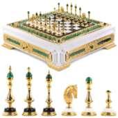 Эксклюзивные шахматы «Императорские» ручная работа