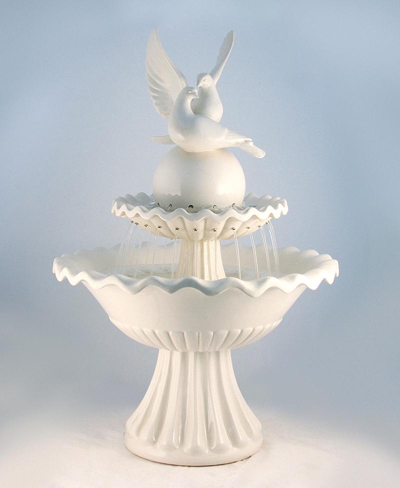 Напольный фонтан «Два голуби»