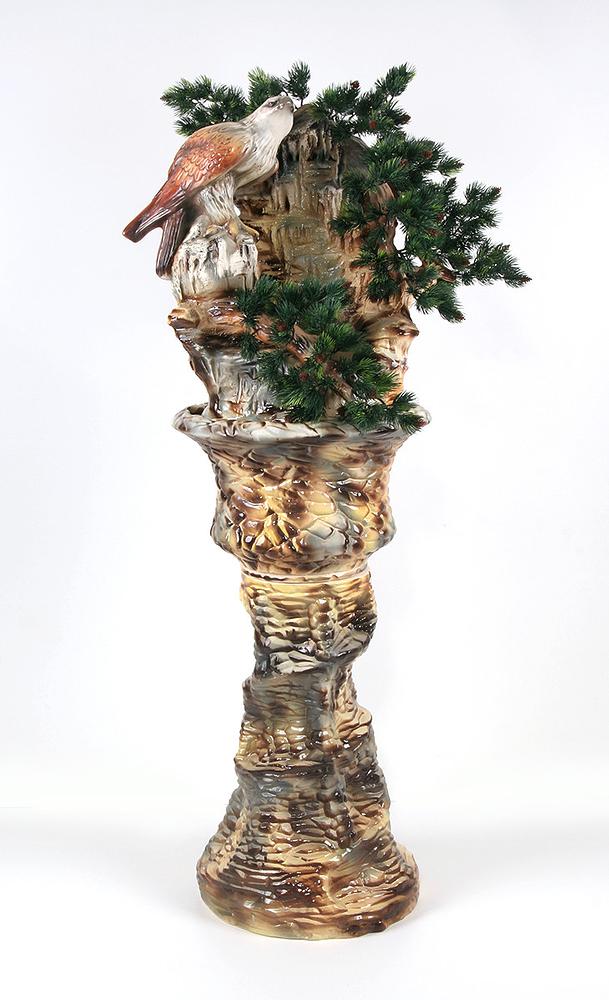 Напольный фонтан «Орёл»