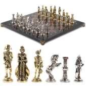 Шахматы «Отечественная война 1812 г.» доска 40х40 см лемезит