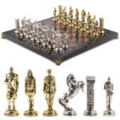 Шахматы эксклюзивные «Великая Отечественная война» 44х44 см из камня