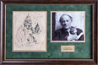 Собственноручный рисунок Иосифа Бродского