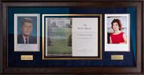 Фотография и путеводитель по Белому дому с подлинными автографами Джона и Жаклин Кеннеди