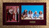 """Фотография группы """"ABBA"""" с подлинными автографами участников"""