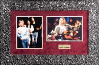 """Фото группы """"Нирвана"""" с подлинными автографами Курта Кобейна, Криста Новоселича и Дейва Грола"""