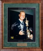 Фото с подлинным автографом гольфиста Джека Никлауса