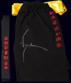 """Копия комплекта из фильма """"Кровавый спорт"""" с подлинным автографом Жана-Клода Ван Дамма"""