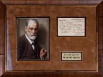 Собственноручная записка Зигмунда Фрейда
