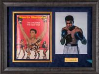 """Обложка журнала """"Sports Illustrated"""" с подлинным автографом Мохамеда Али"""
