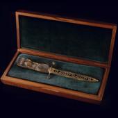 Нож для бумаги «Лапа медведя»