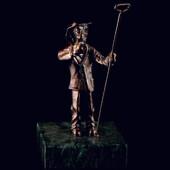 Статуэтка «Металлург» из латуни