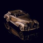 Статуэтка «Мерседес 220 Кабриолет A 1952» из латуни