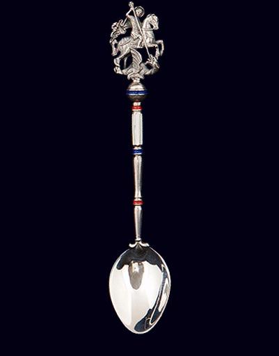 Серебряная ложка «Георгий Победоносец»