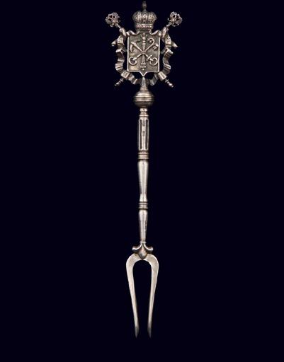 Серебряная вилка «Санкт-Петербург»