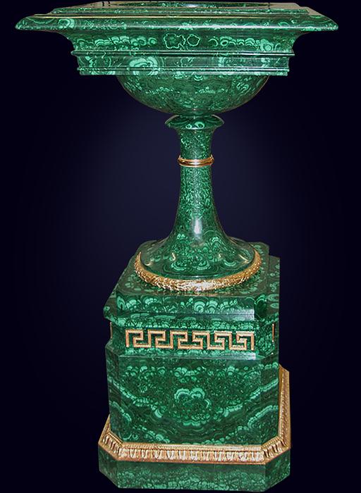 Ваза «Малахитовая чаша»