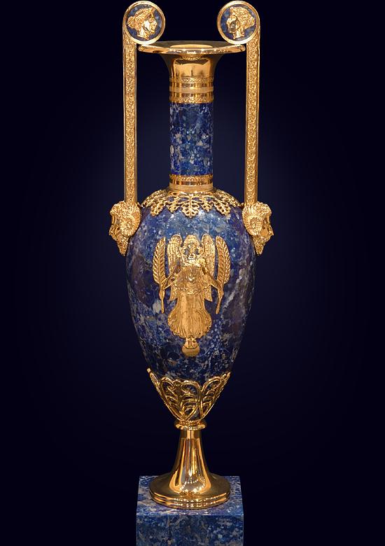 Лазуритовая ваза «Анна»