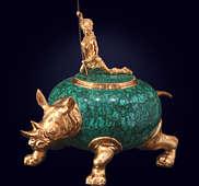 Шкатулка «Носорог»